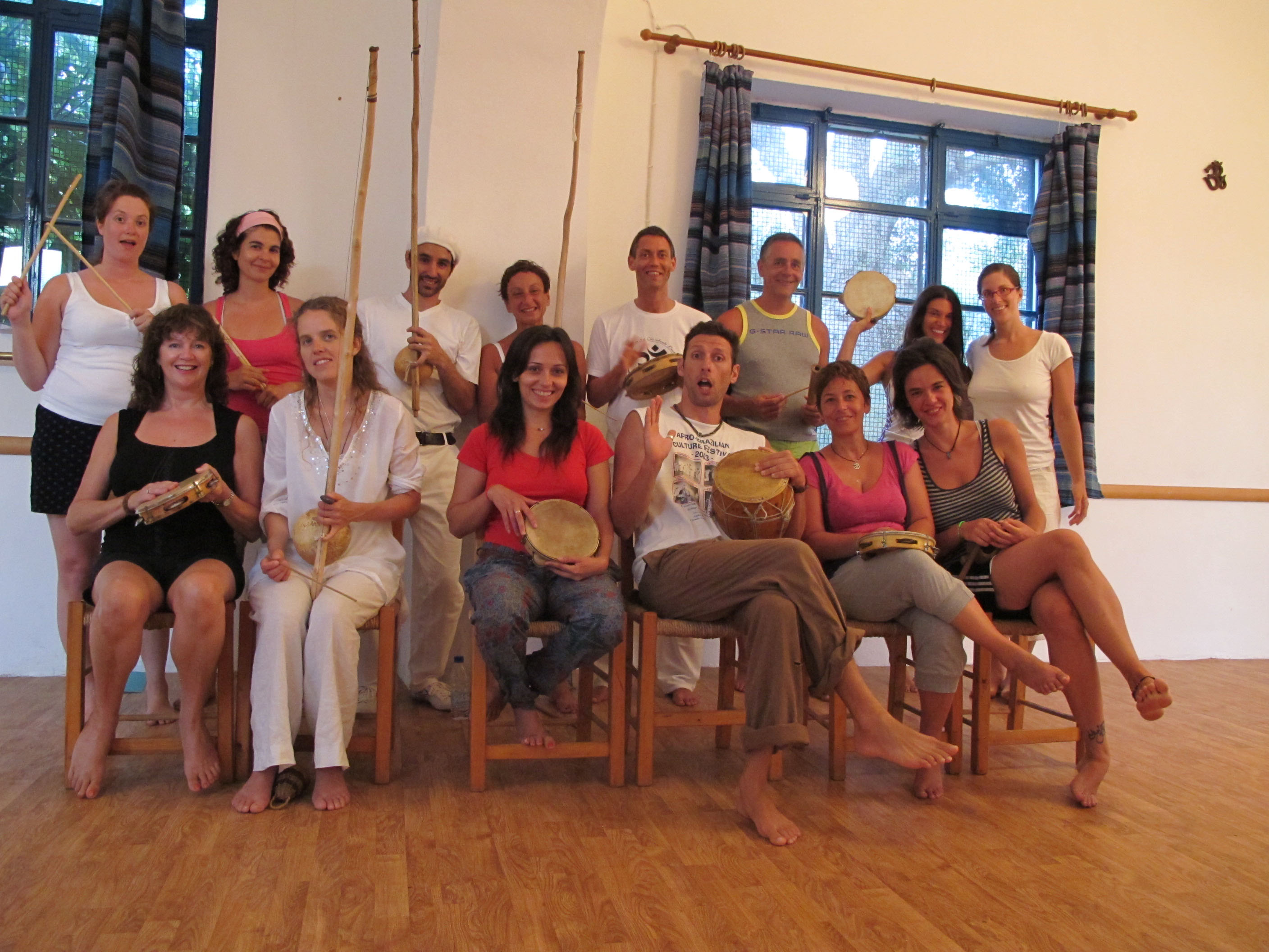 capOeira grOup aug 2011 reduced size