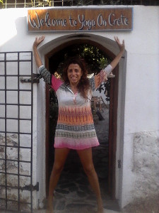 federica welcome to yoga on crete